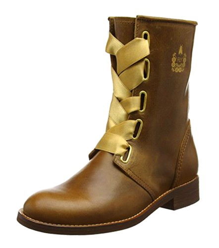 Fly London Cristina Rodrigues Dwell 01 Camel Tan Leather