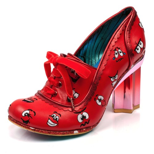 Shoes Choice High Irregular Star Red Silly Heel Faces byfgY7v6