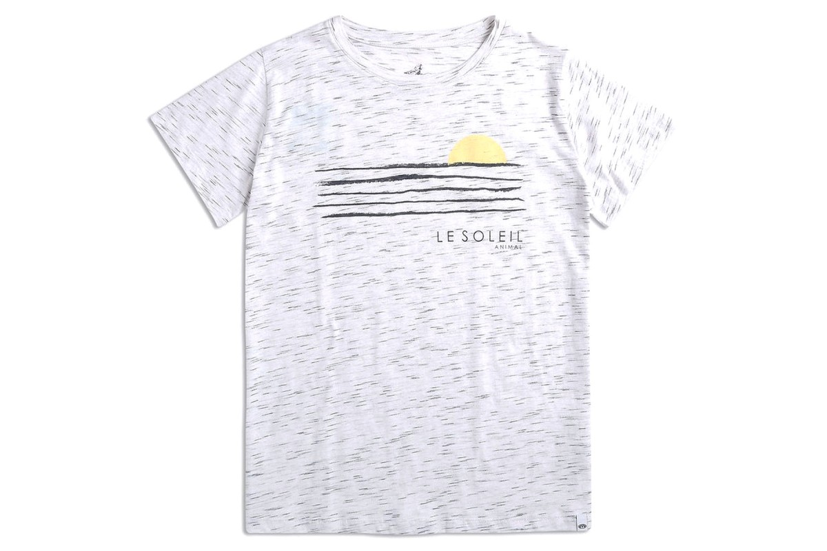 Animal Le Soleil Graphic Tee Women's White T Shirt