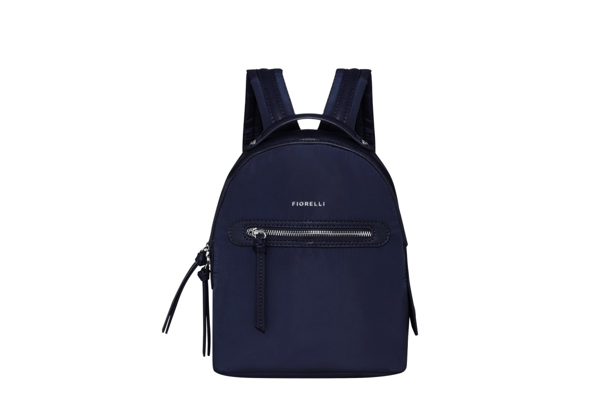 Fiorelli Anouk Navy Nylon Backpack Bag