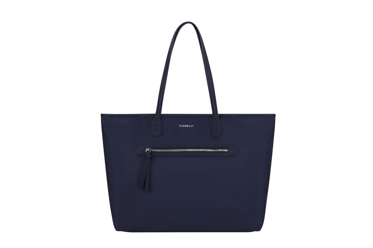 Fiorelli Talia Navy Nylon Tote Shoulder Bag