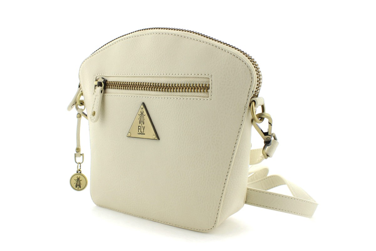 Fly London Elil Off White Cream Shoulder Bag