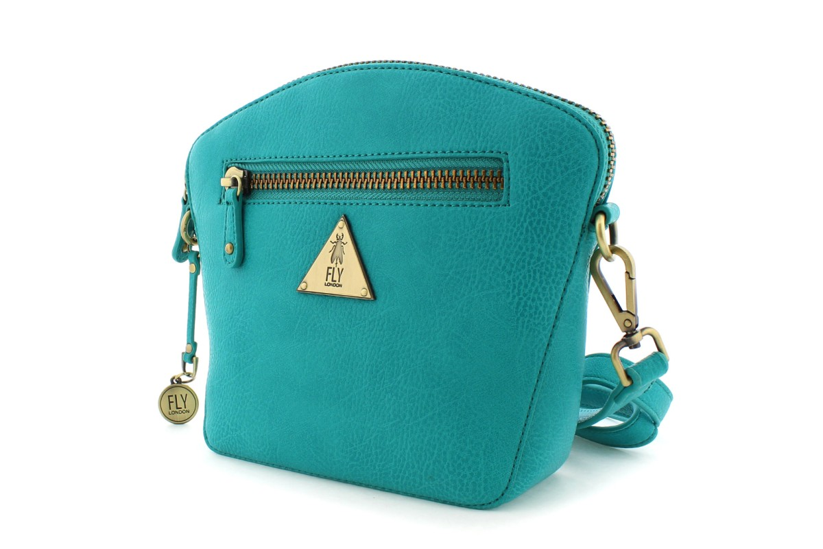 Fly London Elil Verdigris Teal Shoulder Bag