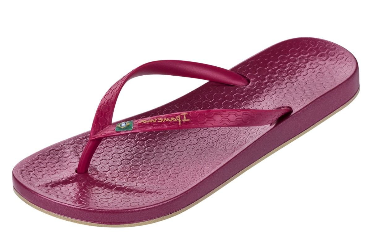Ipanema Beach Berry Purple Women's Flip Flops