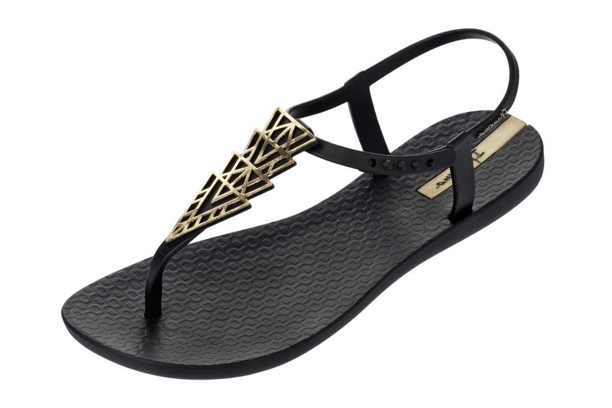 Black 'Charm' T-bar sandals buy cheap exclusive choice for sale sale 2014 new free shipping 2015 new discount cheapest price z6wXwTdUR