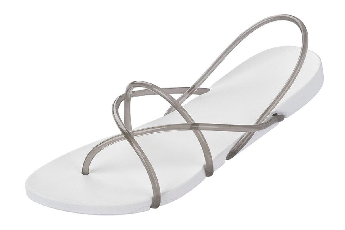Ipanema Starck Thing G White Smoke Women's Flip Flops