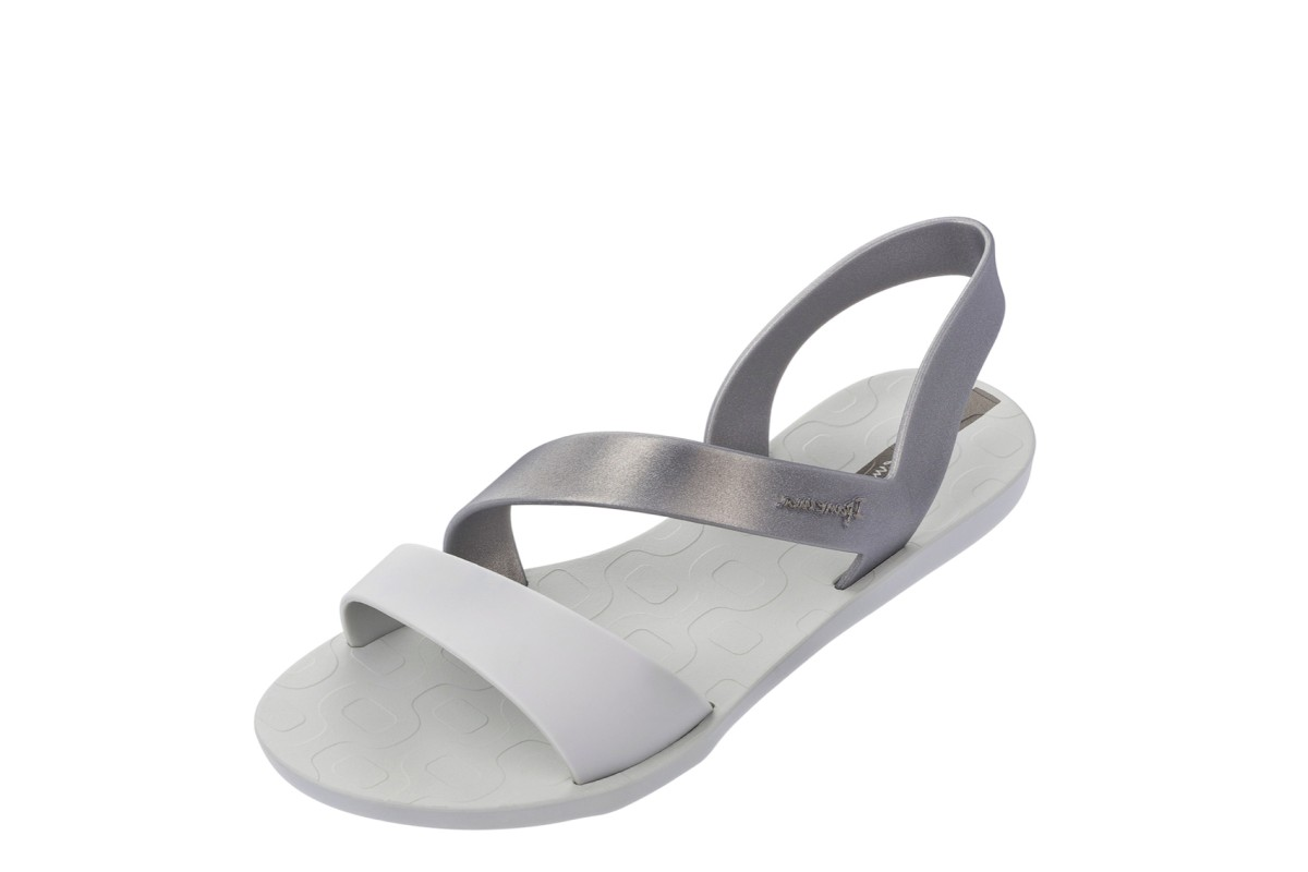 Ipanema Vibe Sandal 21 Silver Matt Grey