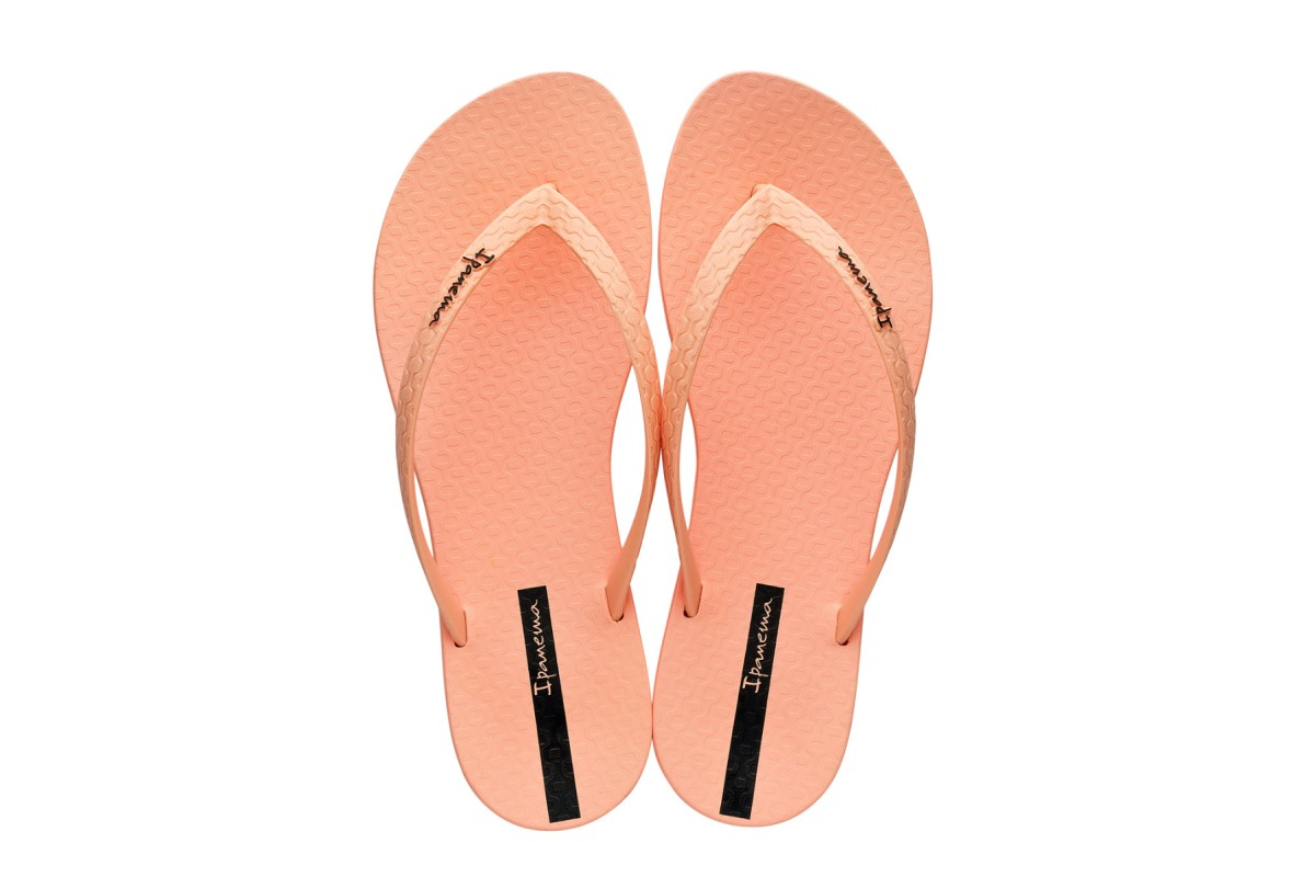 Ipanema Wave Salmon Women's Flip Flops