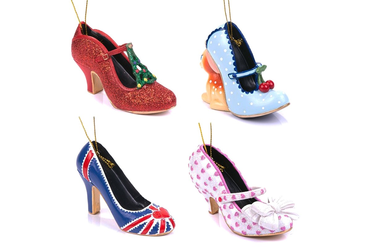 Irregular Choice Christmas Bauble Mini Shoe Gift Set Four Pack