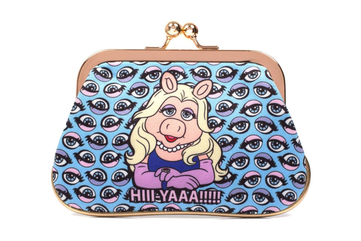 Irregular Choice Muppets Hiii Yaaa Blue Miss Piggy Purse