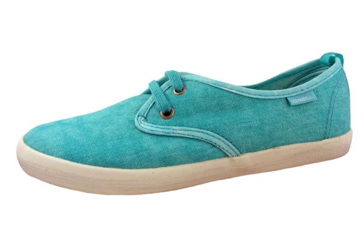 O'Neill Gidget Sea Green Canvas Trainers