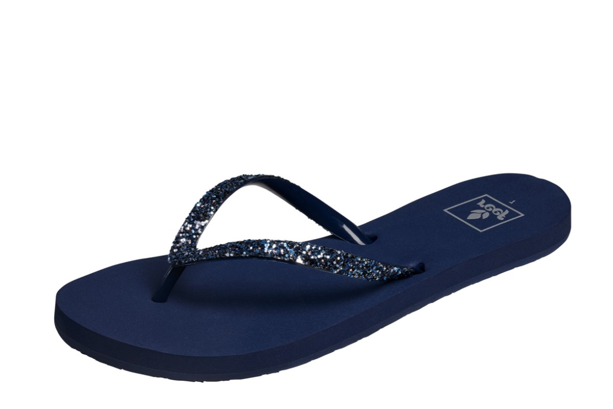Reef Stargazer Mermaid Navy Glitter Women's Flip Flops