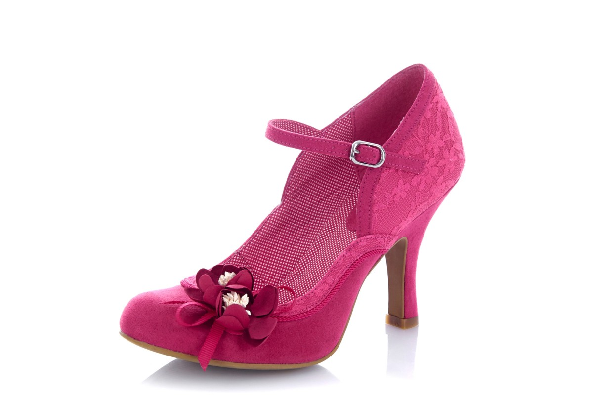 Ruby shoo silvia fuchsia pink lace high heel mary jane flower shoes ruby shoo silvia fuchsia pink lace high heel mary jane flower shoes mightylinksfo