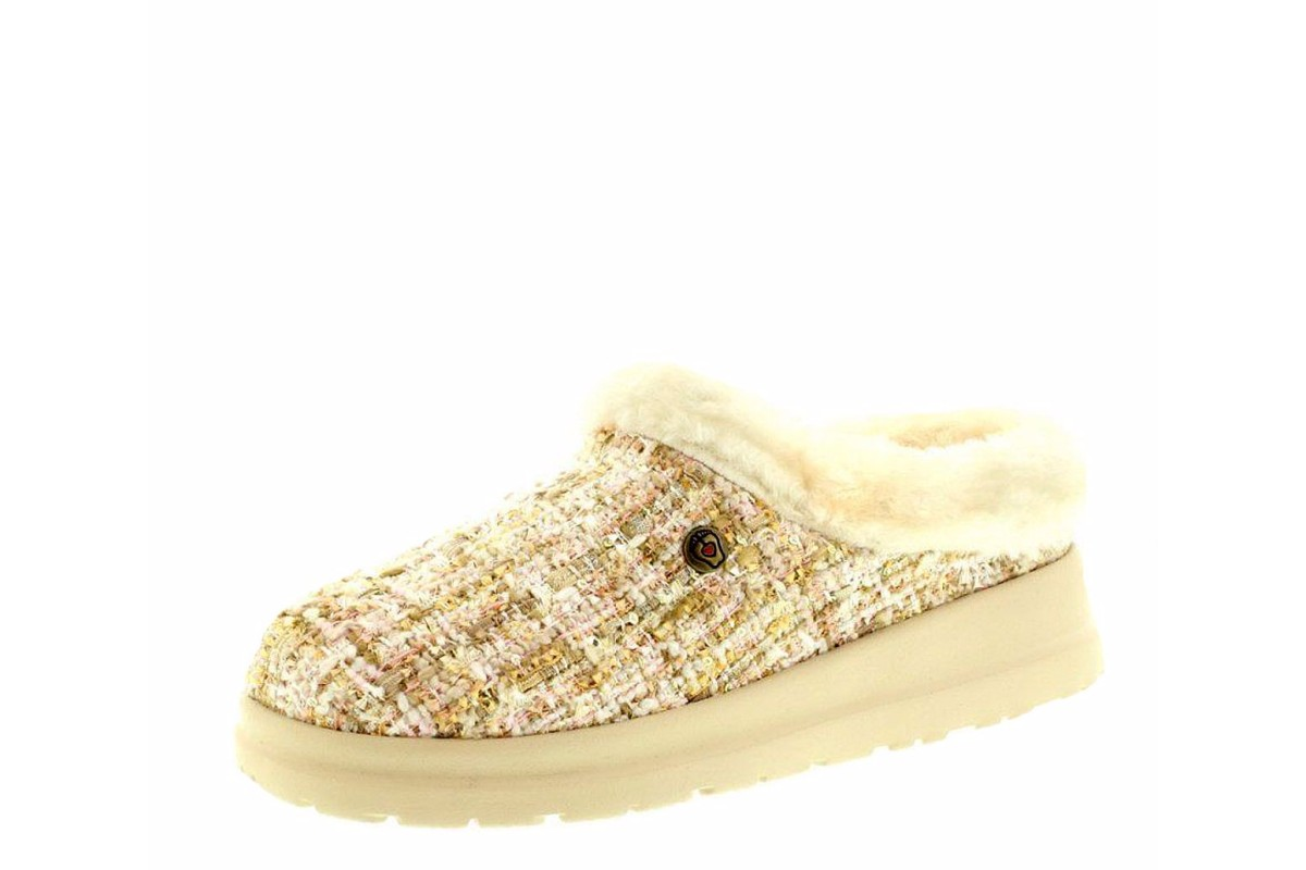 Skechers Cherish Pomp & Circumstance Natural Memory Foam Slippers