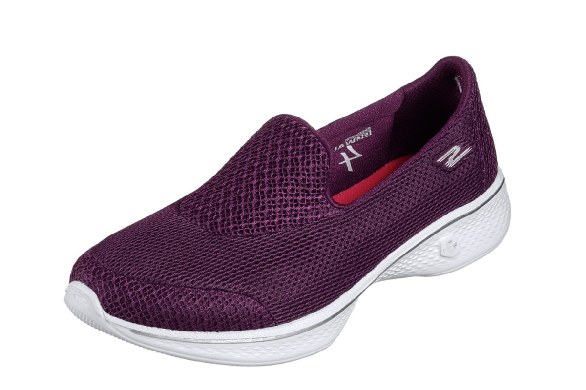 501a2e80851a9 Skechers Go Walk 4 Propel Raspberry Purple Women s Slip On Comfort Shoes -  KissShoe