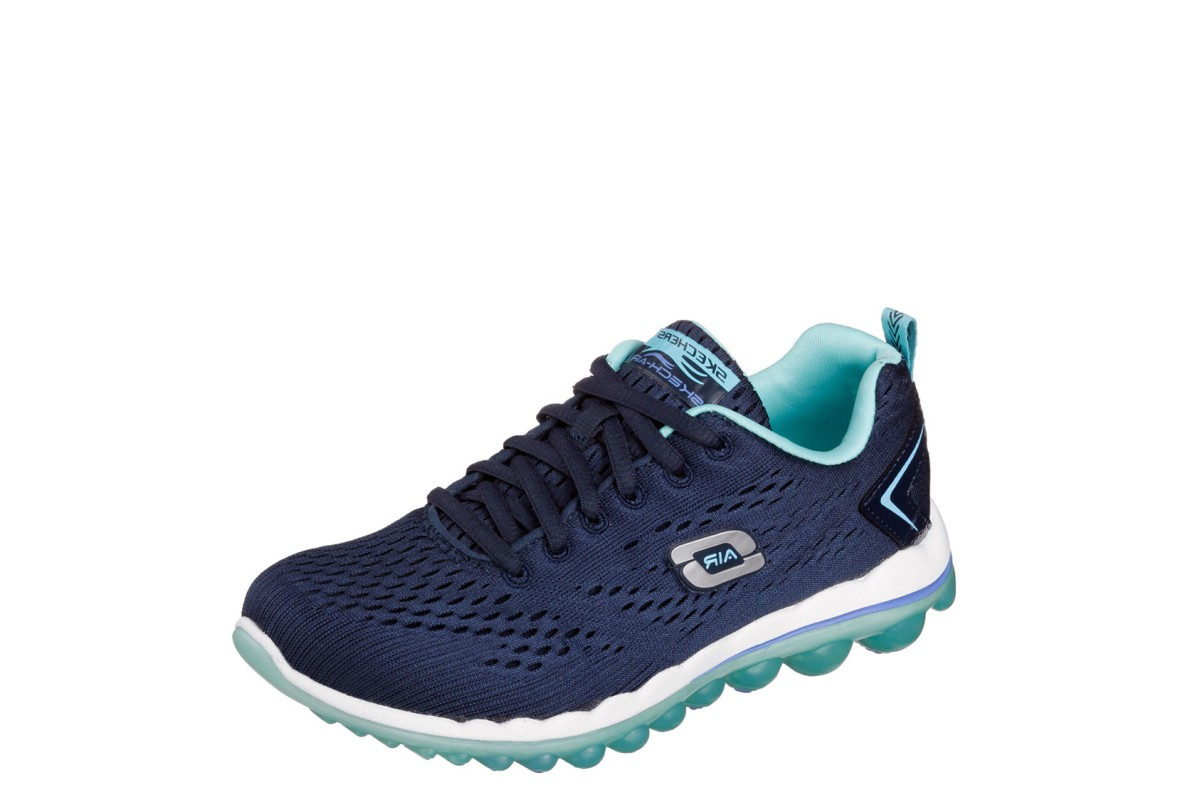 Skechers Skech Air 2.0 Aim High Navy Light Blue Women's Trainers