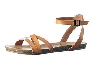 beb79cd5dc64e Blowfish Blume Brown Rancher Canvas Whiskey Women's Open Toe Sandals ·  £43.99 £29.99 · Blowfish Galie Desert Sand Tan Ankle Strap Flat Women's  Sandals