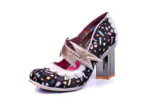 fdd7d20c127 £119.99 · Irregular Choice Rainbow Thunder Black Lightning Bolt High Heel  Shoes · £99.99 · Irregular Choice You Are Magical White Green Unicorn Glitter  Low ...