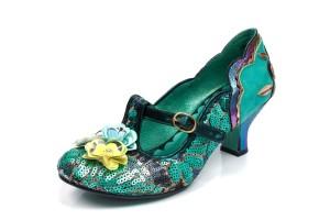 2711fb43f1e £104.99 · Poetic Licence Popsugar Teal Green Sequin Mid Heel Flower Shoes ·  £99.99 £79.99 · Poetic Licence Flower Moon Beige Floral Velvet ...