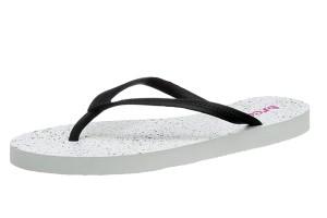 6e0db6116 £14.99 £6.99 · Reef Chakras Prints White Splatter Women s Flip Flops