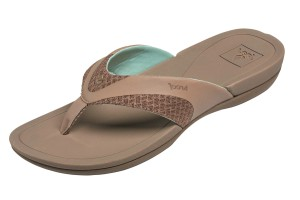14446d132155 Reef Escape Lux T Strap Olive Green Flat Comfort Sandals · £39.99 £19.99