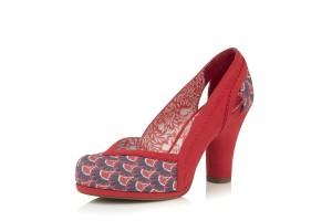 fa556624df8 Irregular Choice Lady Ban Joe Pink Pastel Glitter Rainbow Mid Heel Court  Shoes · £59.99