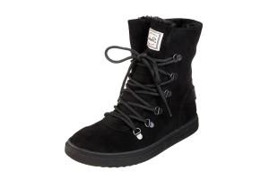 2b8f45c4e £69.99 · Skechers Keepsneak Avalanche Black Faux Suede Flat Memory Foam Ankle  Boots