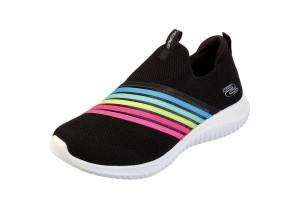 1807a6b7 £64.99 £49.99 · Skechers Ultra Flex Brightful Day Black Multi Rainbow Memory  Foam Slip On Trainers · £56.99 · Skechers Ultra Flex Pastel Party ...