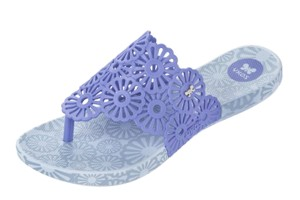 56adad72bbb Zaxy Ice Flower Smoke Black Flip Flops Flat Sandals · £27.99 £10.99