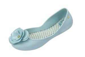 3944e6d0b524 £34.99 £26.99 · Zaxy Start Bloom Sky Blue Flower Flat Ballet Shoes