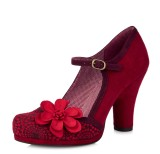 Ruby Shoo Tanya Red