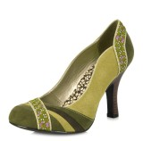 Ruby Shoo Heather Moss Green